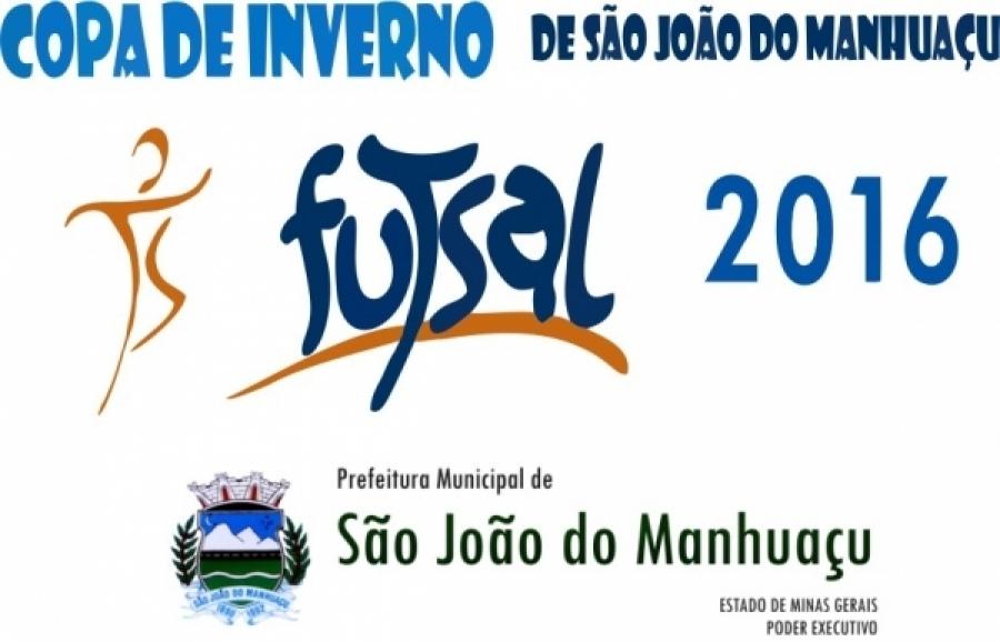 Atenção! As semifinais da Copa Futsal de Inverno foram adiadas devido as fortes chuvas!