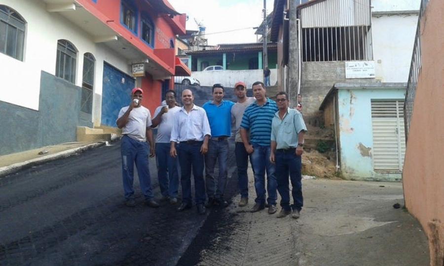 Calçamento de Ruas - São João do Manhuaçu